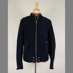 Diesel XXL Navy Full Zip Lightweight Jacket